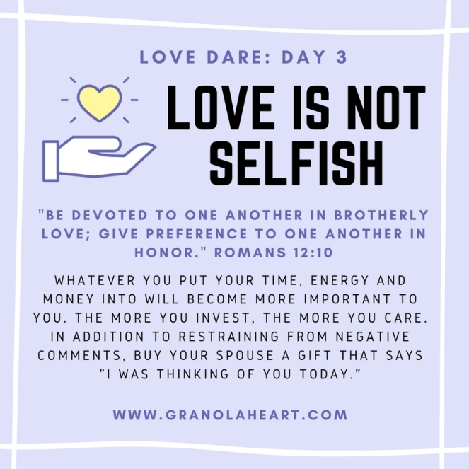 love-is-not-selfish